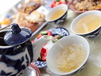 Чай после еды