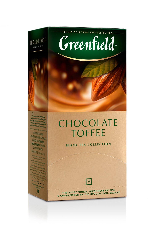 чай гринфилд шоколадный