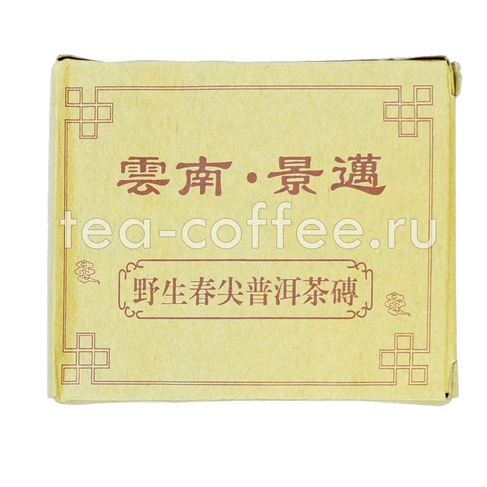 Чай Юннаньский Джинмэй Пуэр Ча, в плитках 50 г