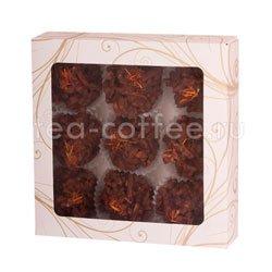 Бритарев кроканты миндалем в горьком шоколаде 180 гр