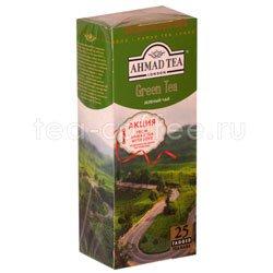 Чай Ahmad Пакет Зеленый чай 2гр*25 шт. Россия