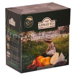 Чай Ahmad Tea в пирамидках Pear Strudel. Ахмад Грушевый штрудель