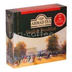 Чай Ahmad Пакет Английский завтрак. Черный, 2гр40 шт