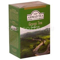 Чай Ahmad Листовой Зеленый чай. 200 гр Россия