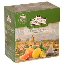 Чай Ahmad Tea в пирамидках Citrus Sorbet. Ахмад Цитрусовый сорбет  Россия