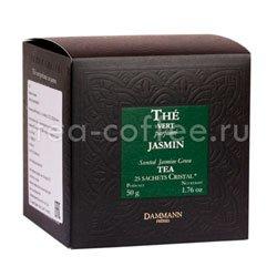 Чай Dammann Зеленый с жасмином 25 пак по 2 гр