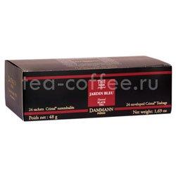 Чай Dammann Голубой сад черный 24 пак по 2 гр