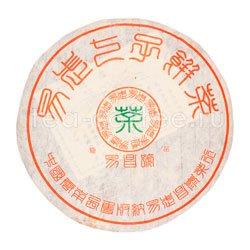 Пуэр блин И Чанг Хао Шен 2001 г 357гр.