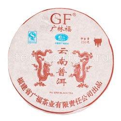 Пуэр блин Дракон 250 гр Китай