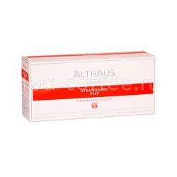 Чай Althaus для чайника Strawberry Flip 20x4 гр