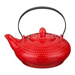 Заварочный Чайник Agness 500 мл красный (470-328)
