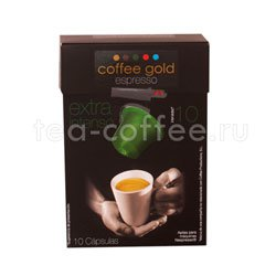 Кофе в капсулах Coffee Gold Extra Intenso 10 капсул