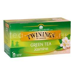 Чай Twinings зеленый  жасмин (25 пакетиков) Великобритания