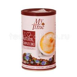 Кофе My Time Soul Harmony Капучино с натуральным кофе и цикорием ж.б. 200 гр