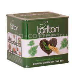 Чай Tarlton Женьшеневый Улун зеленый 200 гр ж.б.