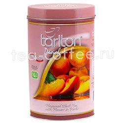 Чай Tarlton Персик черный 100 гр ж.б.