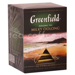Чай Greenfield Milky Oolong Пирамидки