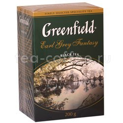 Чай Greenfield Earl Grey Fantasy 200 гр Россия