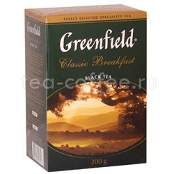 Чай Greenfield Classic Breakfast 200 гр Россия