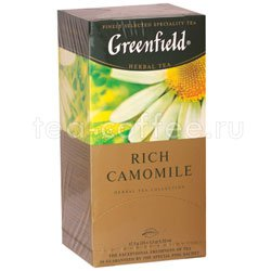 Чай Greenfield Rich Camomile Пакетики Россия