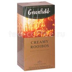Чай Greenfield Creamy Rooibos Пакетики Россия