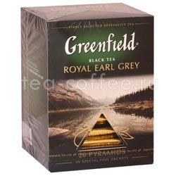 Чай Greenfield Royal Earl Grey Пирамидки