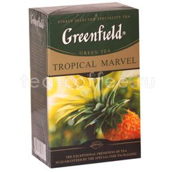 Чай Greenfield Tropical Marvel 100 гр Россия
