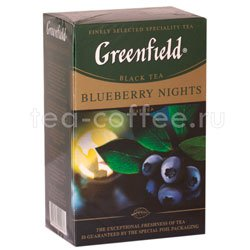 Чай Greenfield Blueberry Nights 100 гр Россия