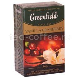 Чай Greenfield Vanilla Cranberry 100 гр Россия