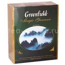 Чай Greenfield Magic Yunnan 100 пакетиков