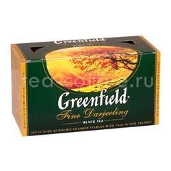 Чай Greenfield Fine Derjeeling Пакетики Россия