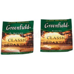 Чай Greenfield Classic Breakfast в Пакете