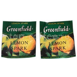 Чай Greenfield Lemon Spark в Пакете
