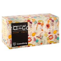 Чай Gutenberg Бенгальский Тигр в пакетиках 25 шт Германия