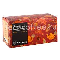 Чай Gutenberg Кения Каймоси в пакетиках 25 шт