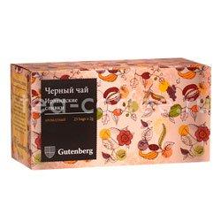 Чай Gutenberg Ирландские Сливки в пакетиках 25 шт х 2 гр