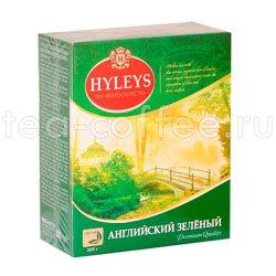 Чай Hyleys Английский Зеленый крупнолистовой 200 гр Шри Ланка