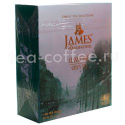 Чай James Grandfather Greentea DCS&T. Зеленый, пакет. 100 шт