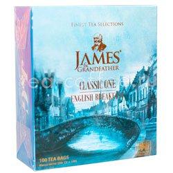 Чай James Grandfather BTEBS&T. Английский Завтрак Черный, Пакетик, 100 шт