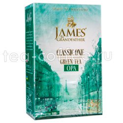 Чай James Grandfather Greentea. Зеленый, 100 гр Шри Ланка