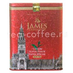Чай James Grandfather Рекое. Черный, ж.б. 200 гр
