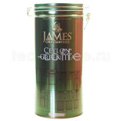 Чай James Grandfather Greentea Soure Tin. Зеленый, ж.б. 300 гр