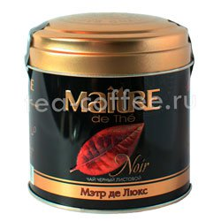Чай Maitre де Люкс Черный 100 гр