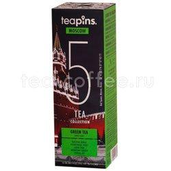 Подарочный набор Sense Asia Moscow Teapins 5 видов зеленого чая Вьетнам
