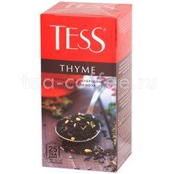 Чай Tess черный Thyme (Чабрец и цедра лимона) 25 шт