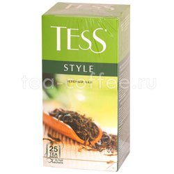 Чай Tess зеленый Style 25 шт Россия