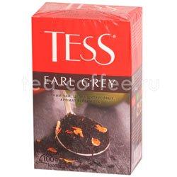 Чай Tess черный Earl Grey (Цедра цитрусовая и аромат бергамота) 100 гр