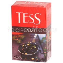 Чай Tess черный Thyme (Чабрец и цедра лимона) 100 гр
