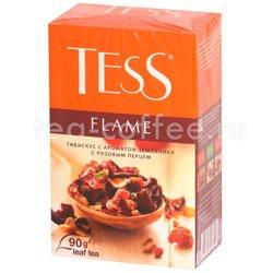 Чай Tess Flame (Гибискус с ароматом земляники с розовым перцем) 100 гр