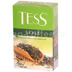 Чай Tess зеленый Style 100 гр Россия